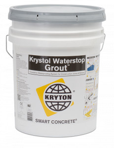 Photo of krystol-waterstop-grout