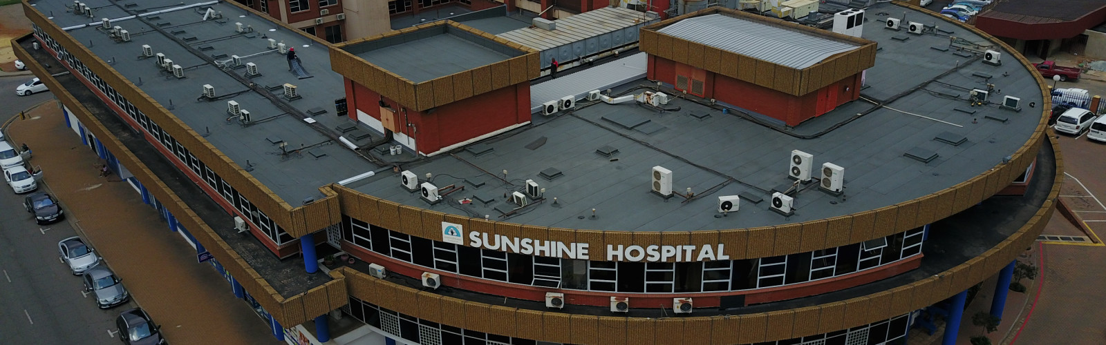 Image of Sunshine Hospital Roof Waterproofing
